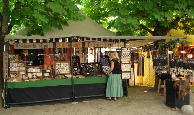 Marktstand in Burghausen