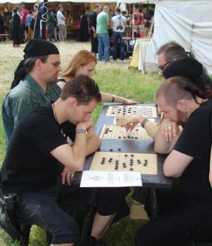 Spieltisch | Mittelalterliche Spiele