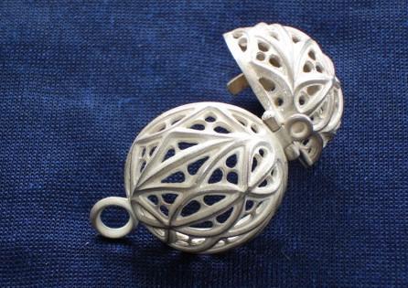 Bisamapfel Silber offen