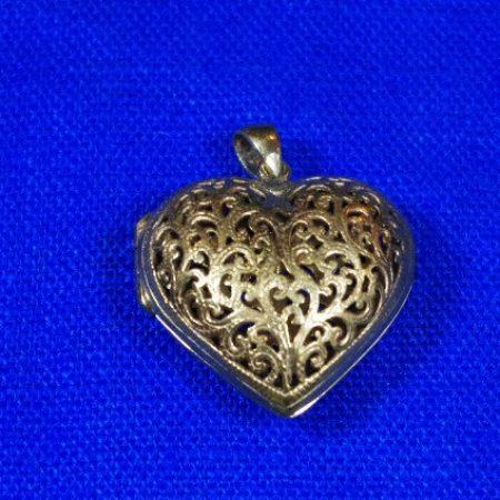 Bisamapfel Bronze Herzform