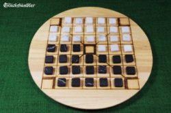 Brettspiel Halatafl mit Steinen