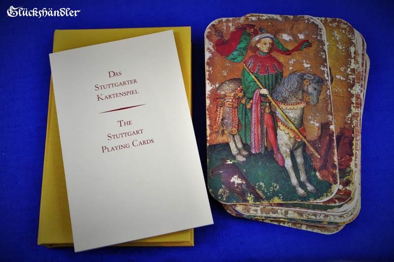 Das Stuttgarter Kartenspiel Verpackung mit Begleitbroschüre
