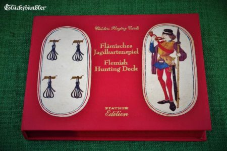 Flämisches Jagdkartenspiel - Verpackung