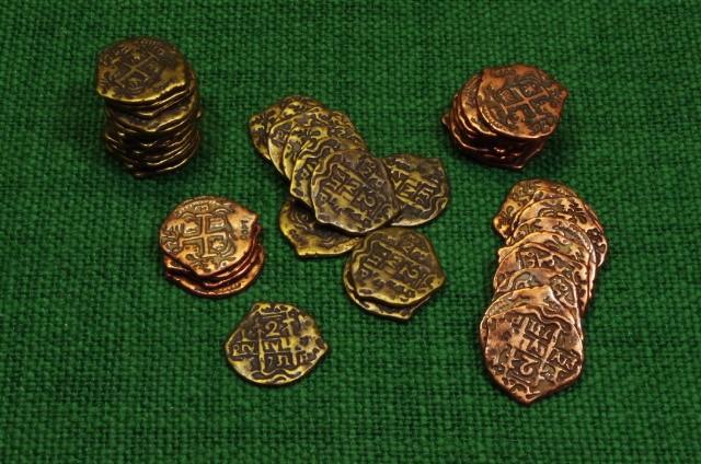 Münzen gemischt