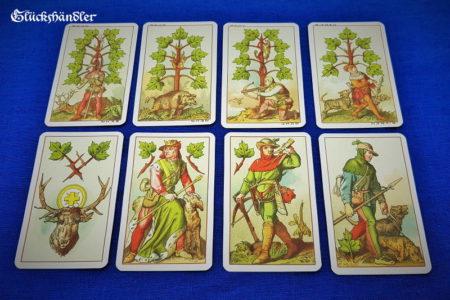 Mittelalterkarte 1886. Blatt-Karten