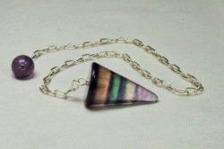 Pendel Regenbogenflourit