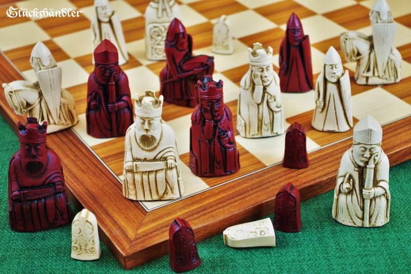 Schachfiguren Isle of Lewis groß