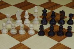 Schachfiguren für kleinere Spielbretter, Feldgröße - 25mm