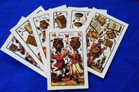 Spielkarten deutsch 16.Jh.