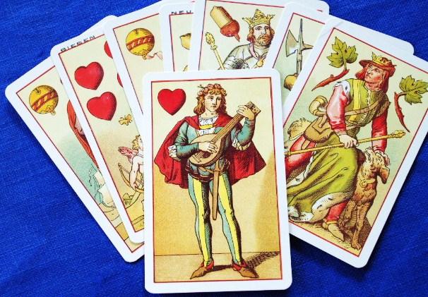 Mittelalter-Spielkarten