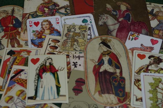 Historische Spielkarten