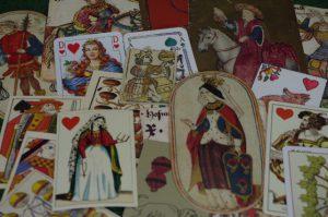 Mittelalterliche Spielkarten
