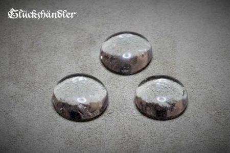 Spielsteine Glas 18mm klar