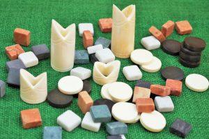 Spielsteine gemischt