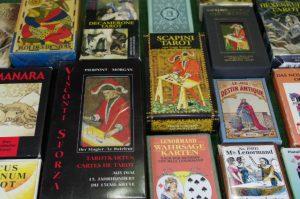 Tarotkarten gemischt