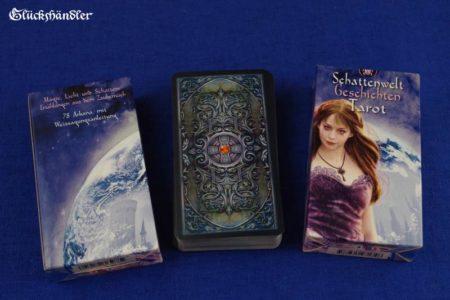 Schattenwelt Geschichten Tarot Verpackung