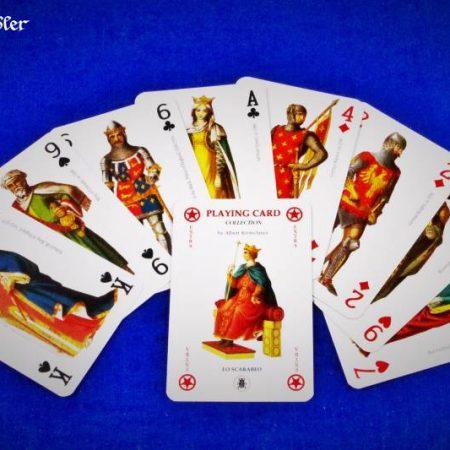 Spielkarten Mittelalter Lo Scarabeo II