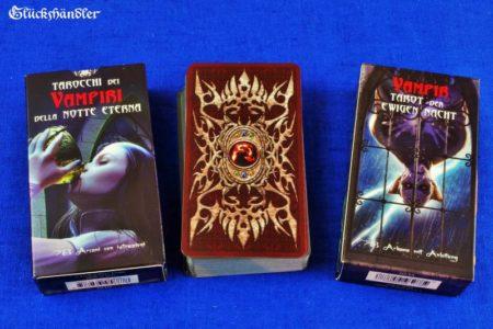 Vampir Tarot der ewigen Nacht Verpackung