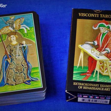 Visconti-Sforza Tarot Verpackung