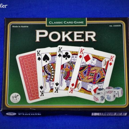 Pokerkarten - Verpackung