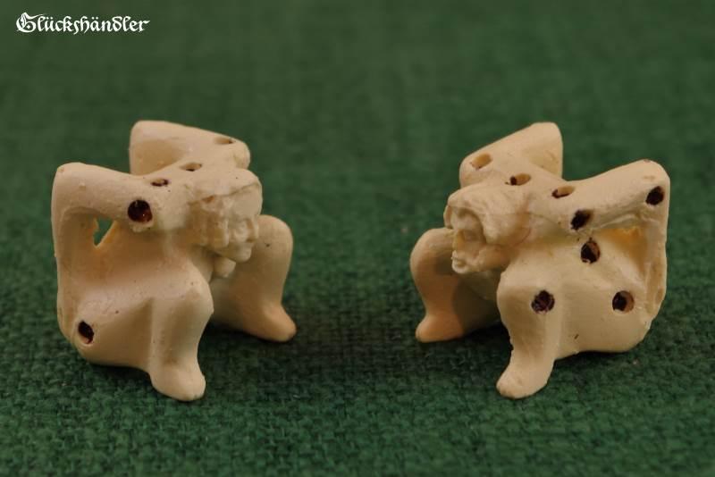 Würfelmännchen und Weibchen Kunststoff