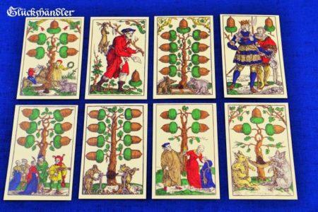 Das Flötner `sche Kartenspiel - Eichel