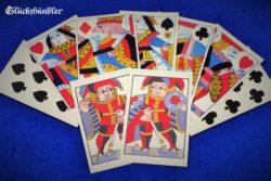 Spielkarten aus England von 1750