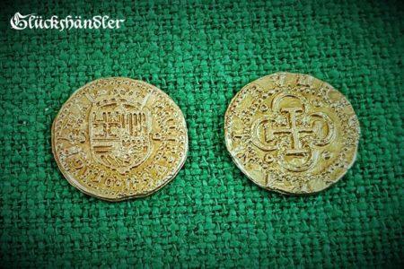 Münzen - Spanien , Dublonen, Escudos , Repliken. goldfarbig
