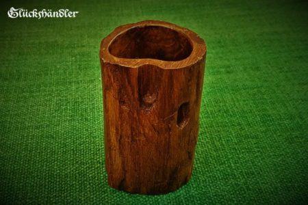 Würfelbecher-Holz-Unikat IV