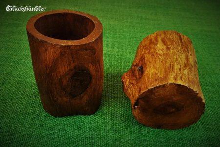 Würfelbecher-Holz-Unikat VI