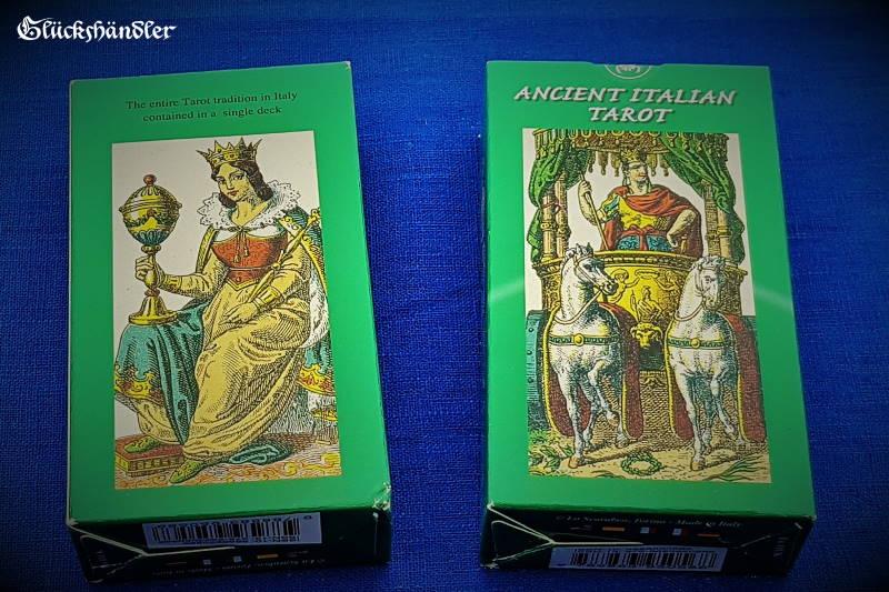 Altes Italienisches Tarot - Ancient Ilalian Tarot - Verpackung