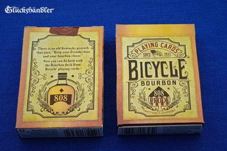 Bicycle Bourbon - Poker Karten - Verpackung