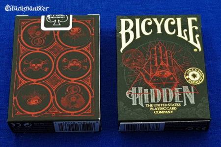 Bicycle Hidden - Spielkarten - Pokerkarten