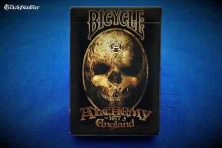 Bicycle -Spielkarten - Alchemy II Verpackung