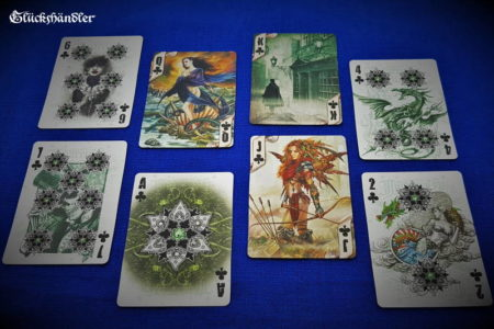 Bicycle -Spielkarten - Alchemy - Kreuz