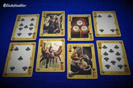 Bicycle -Spielkarten - Steampunk von Anne Stokes - Kreuz
