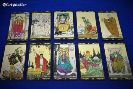 Golden Universal Tarot Große Arkana 0-9