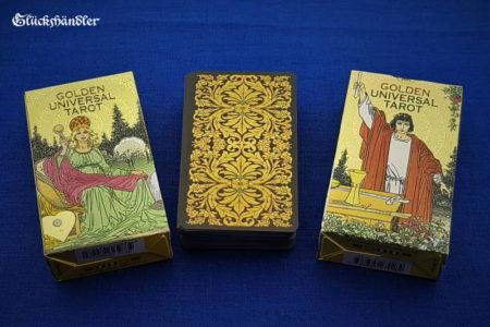 Golden Universal Tarot - Verpackung