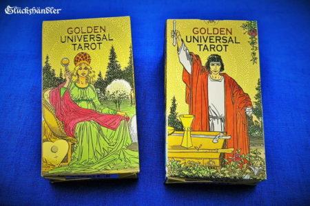 Das Golden Universal Tarot - Verpackung. II