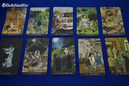 Hexenkult Tarot - Pagan Tarot - Große Arkana - 0 - 9