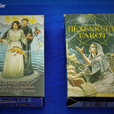 Hexenkult Tarot - Pagan Tarot - Verpackung