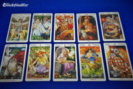 Celtic Tarot - Great Arkana 0 - 9