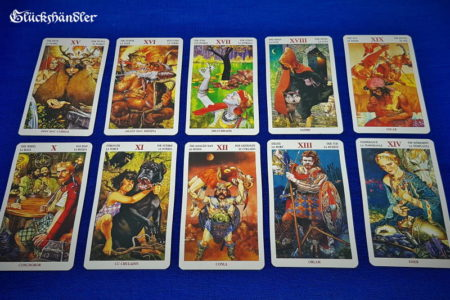 Celtic Tarot - Great Arkana 10 - 19