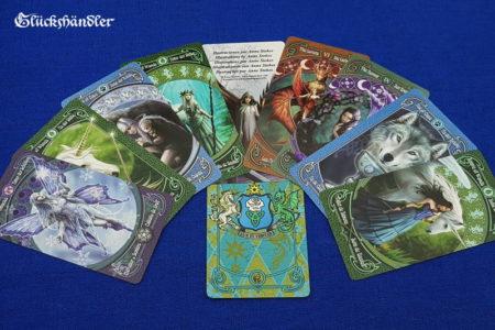 Legends Tarot von Anne Stokes