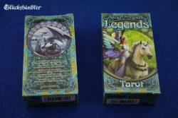 Legends Tarot von Anne Stokes - Verpackung