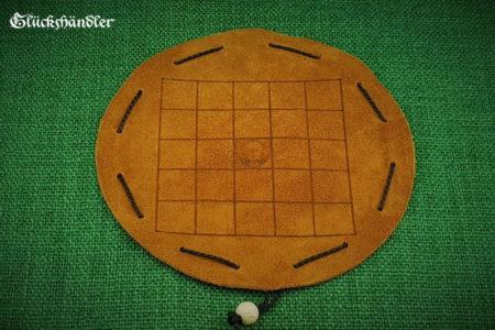 O-Pat-Kono - Fünf-Feld-Kono mit Spielsteinen aus Glas