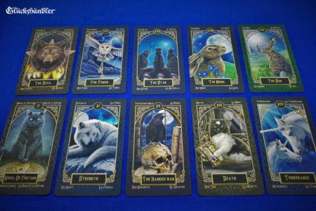 Tarot - Familiars -Great Arkana 10 -19