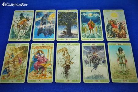 Wikinger Tarot - Vikings Tarot - Große Arkana 10-19