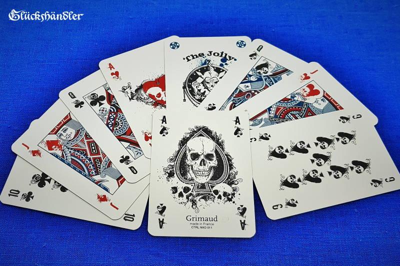 Grimaud - Death Game - Poker Karten