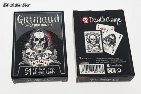 Grimaud - Death Game - Poker Karten Verpackung